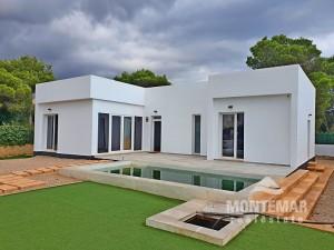Cala Pi - Neubau Villa in minimalistischem Design