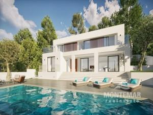 Luxusvilla in modernem Design in Santa Ponsa