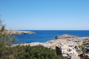 Baugrundstück in erster Meereslinie von Cala d'Or