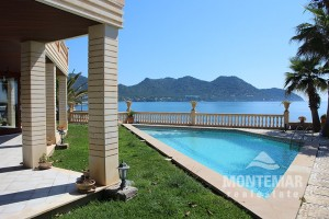 Port Verd - Luxusvilla in erster Linie mit direktem Meerzugang