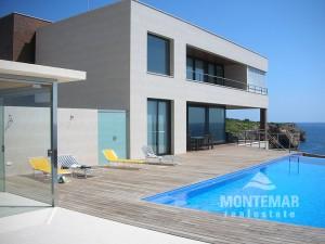 Porto Cristo - Moderne Architektenvilla in spektakulärer Lage
