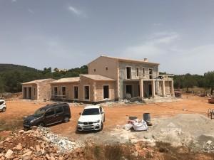 Neubauprojekt Son Punta zwischen Alqueria Blanca und Santanyi