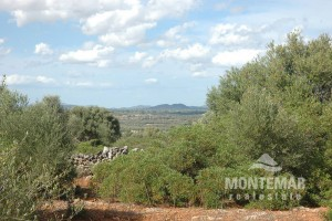 Santanyi - Baugrundstück mit schönem Panoramablick