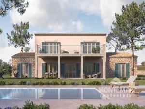 Finca-Grundstück mit Baugenehmigung in Santanyi