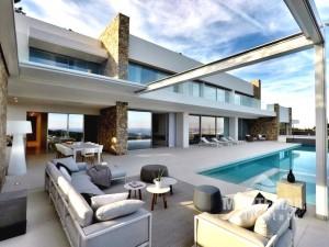 Palma/Son Vida - Exklusive Villa mit fantastischem Meerblick