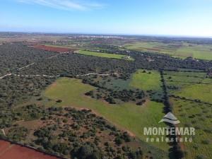 Grundstück mit Panoramablick und Bauprojekt in Santanyí zum Verkauf