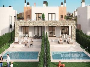 Moderne Doppelhaushälfte in Sa Ràpita zum Verkauf