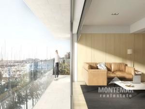 Luxuriöses Apartment in Palma mit modernem Design und spektakulärem Ausblick