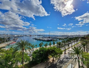 Palma/Paseo Marítimo - Exklusives Apartment in erster Meereslinie