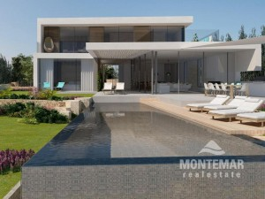 Neubau Villa in erster Meereslinie in Cala d'Or