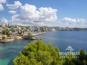 Palma/Cas Catala - Apartment mit Panoramameerblick