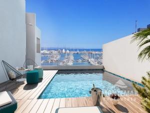 Palma/Son Armadams - Apartments/Penthäuser in zentraler Lage und wunderschöner Aussicht