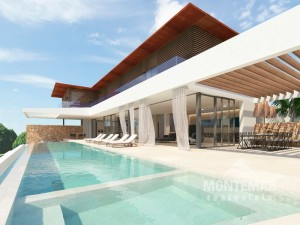 Neubauprojekt mit Meerblick in der Cala Vinyes
