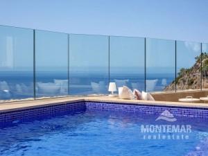 Port d'Andratx/Cala Llamp - Luxuriöse Doppelhaushälfte in einer exklusiven Anlage