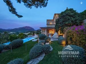 Camp de Mar - Wunderschöne Natursteinfinca mit Meerblick zum Verkauf