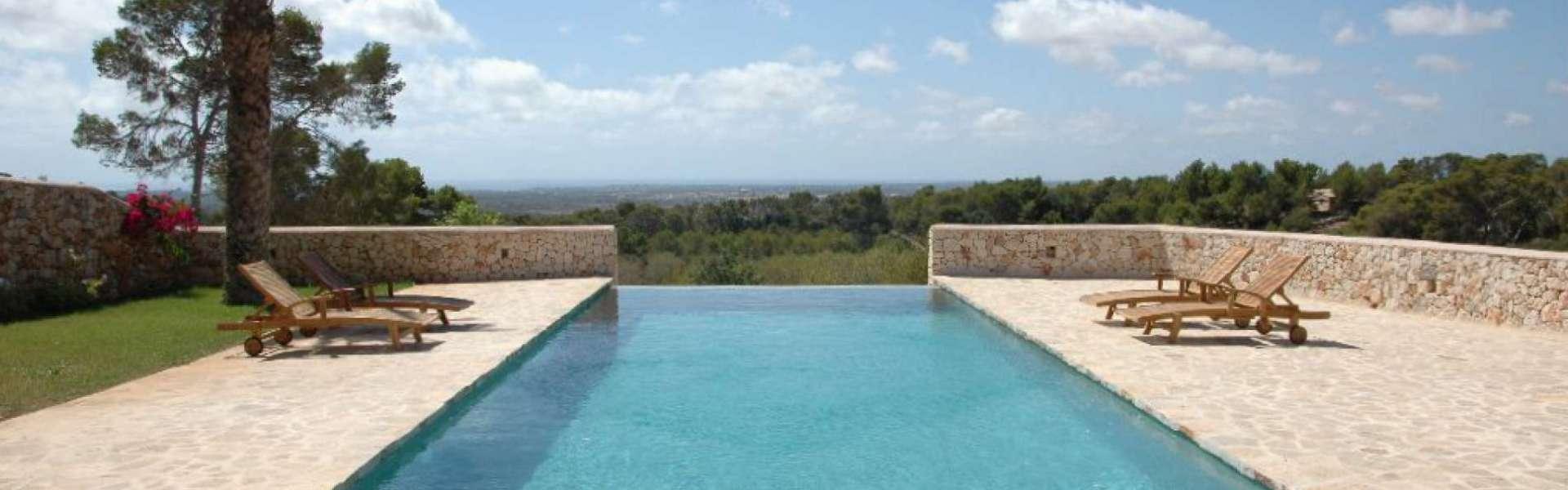 Santanyi - Finca Traum mit Panorama-Meerblick