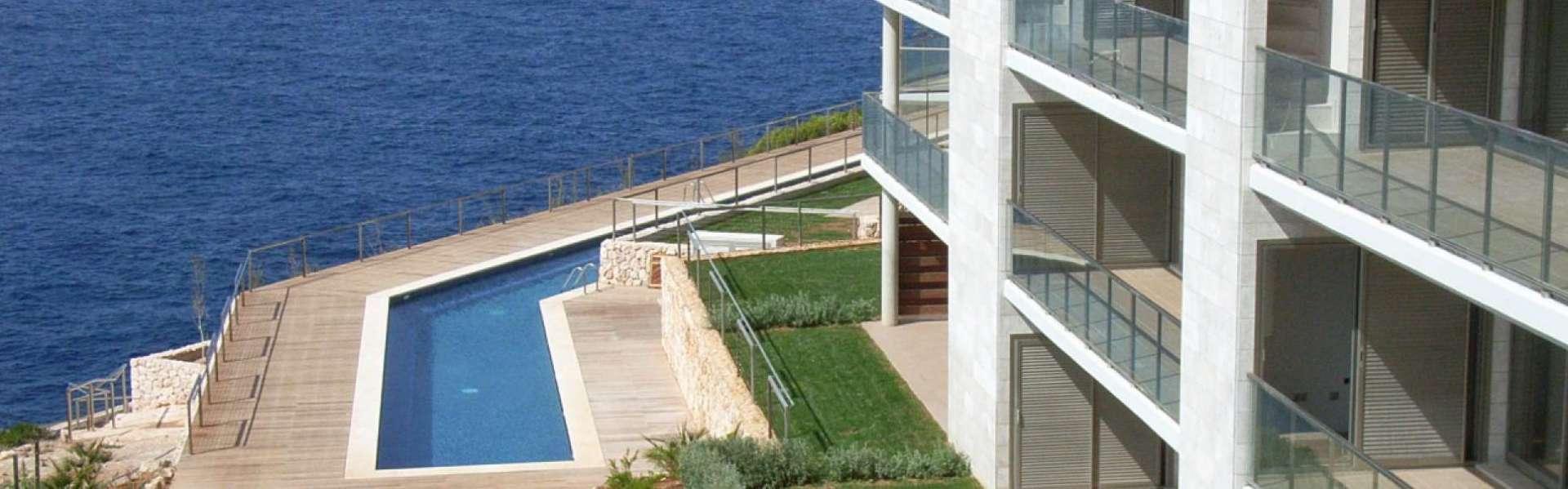 Santanyi / Cala Figuera - Meerblickapartment zum Kauf