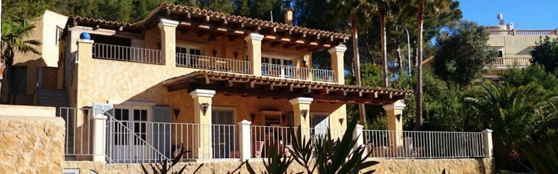 Costa de la Calma - Fincastil Villa mit Meerblick und Strandzugang