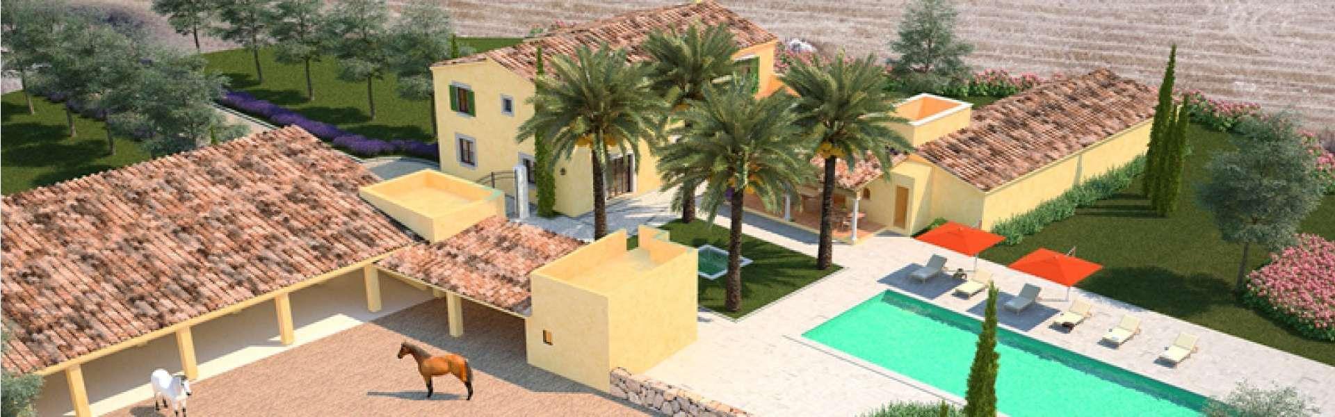 Felanitx - Finca Anwesen zur Fertigstellung - Ideal für Pferdeliebhaber