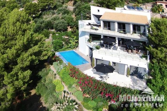 Port de soller moderne villa mit traumblick