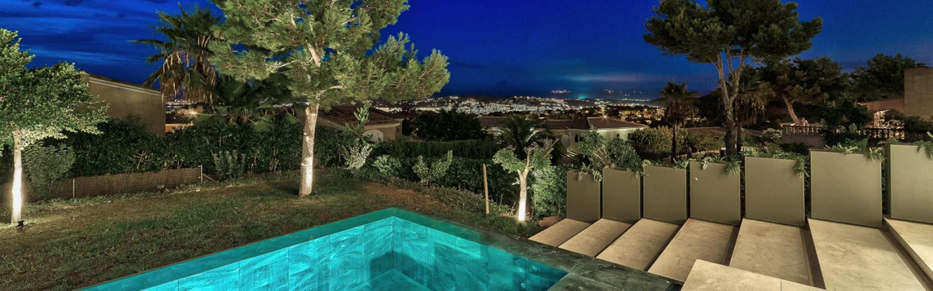 Außergewöhnliche Villa mit Meer- und Bergblick - Santa Ponsa