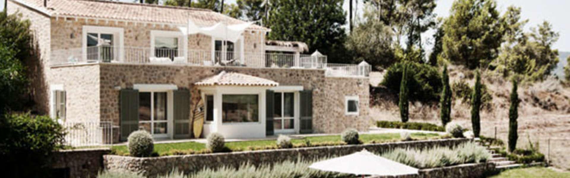 Calvia - Natursteinfinca im modernen Stil