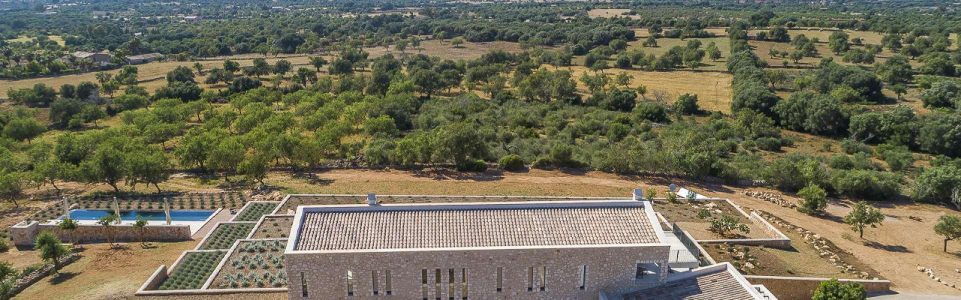 Neubauprojekt mit Panoramablick zwischen Santanyi und Cas Concos