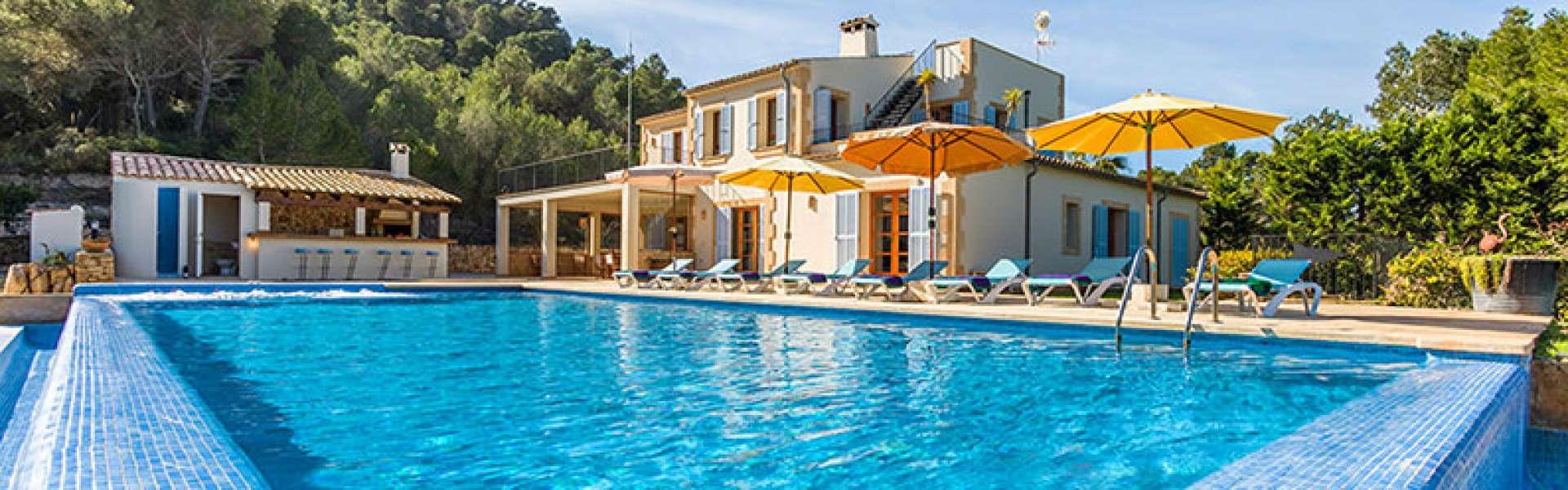 Felanitx - Finca in schöner Lage und mit tollem Panoramablick zum Kauf