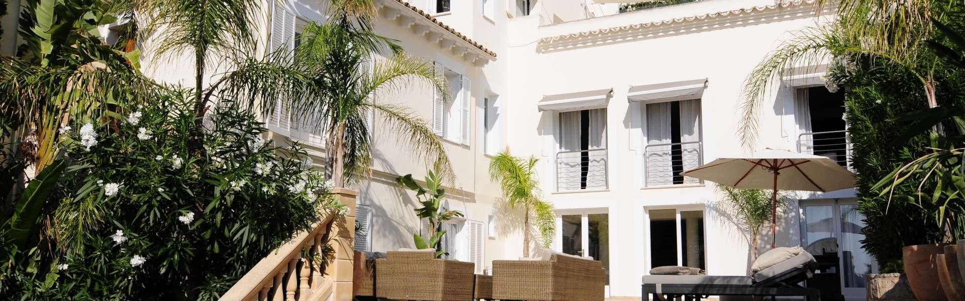 Hafenblick-Villa in Palma-El Terreno