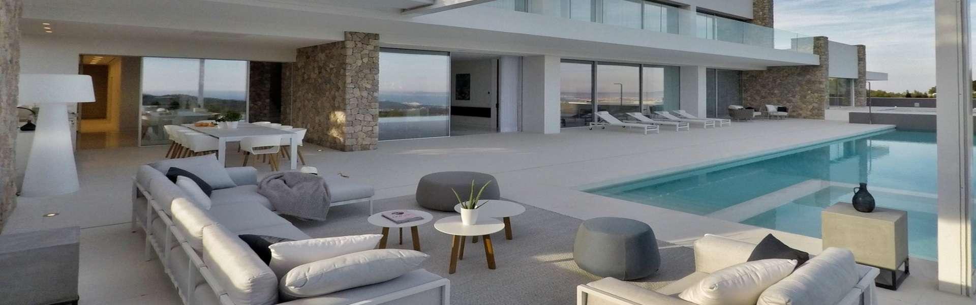 Exklusive Villa mit fantastischem Meerblick in Palma/Son Vida