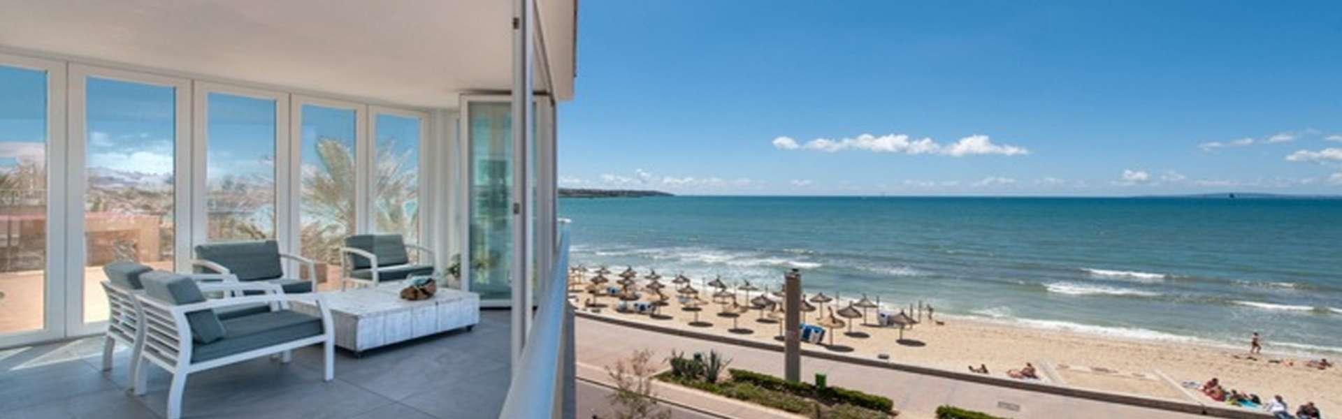 Palma - Luxusapartment in erster Meereslinie