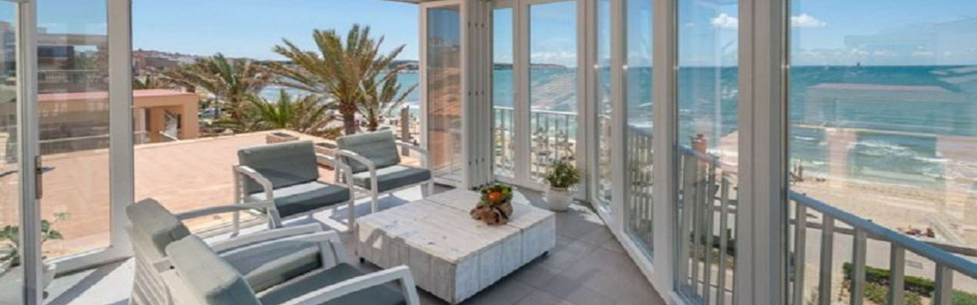 Palma - Luxusapartment in erster Meereslinie