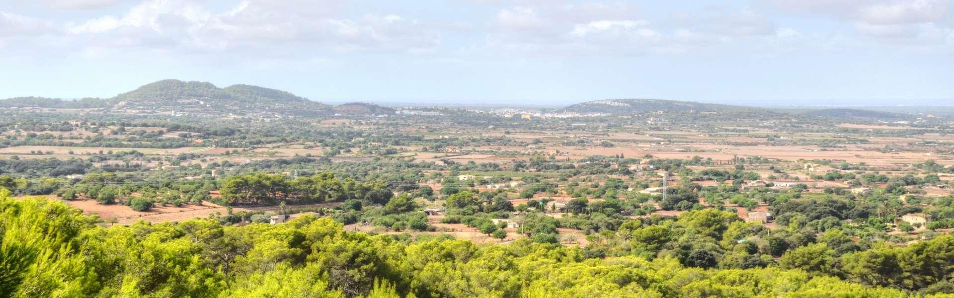 Landhaus mit traumhaften Panorama-Meerblick in Felanitx