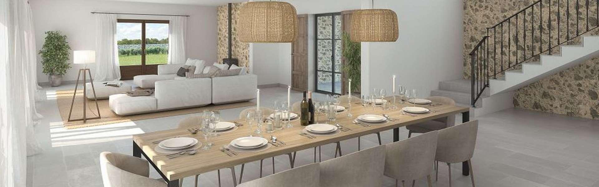 Alqueria Blanca - Geschmackvolle Neubaufinca mit Weitblick
