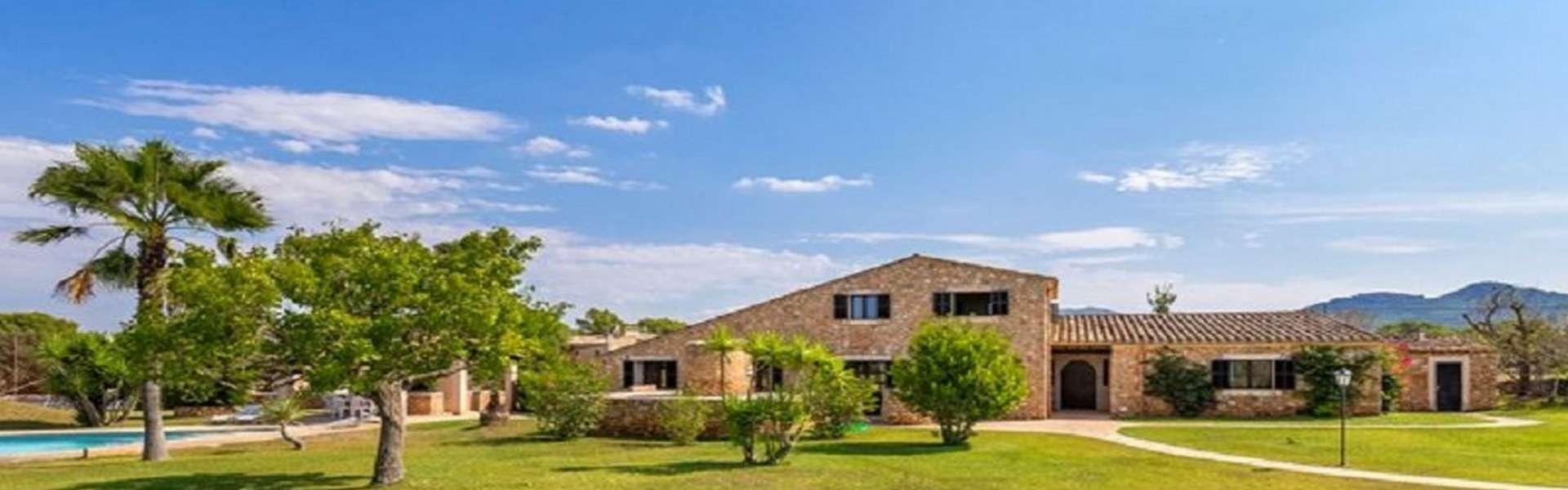 Cas Concos - Wunderbares Anwesen mit Pool und Tennisplatz