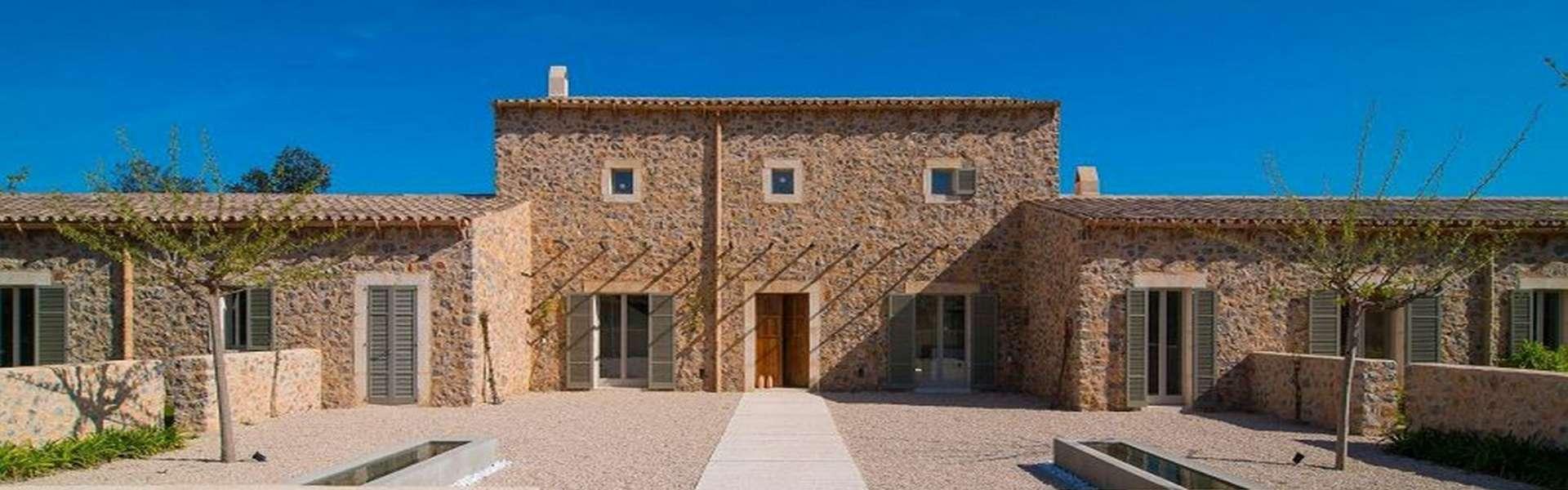 Santanyí - Schönes Grundstück mit genehmigtem Bauprojekt