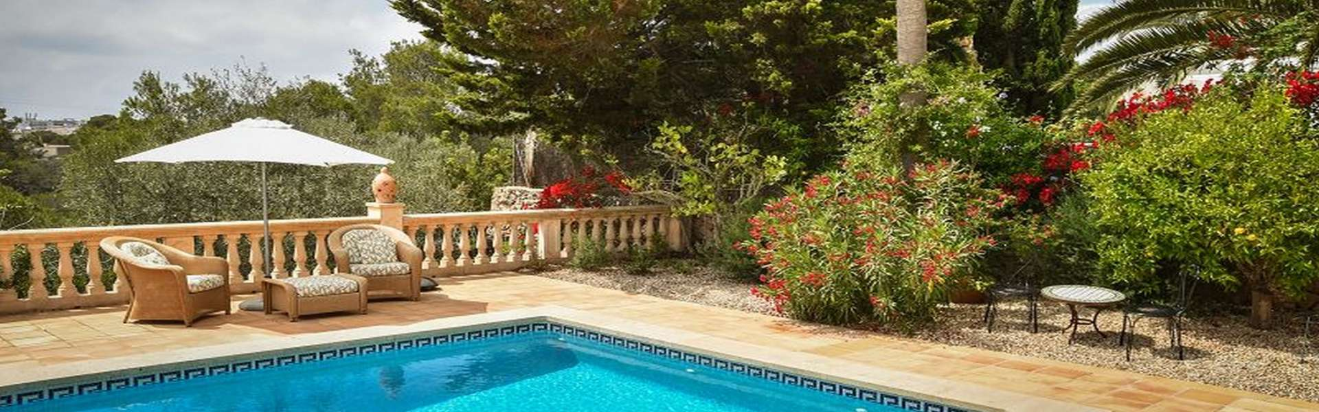 Mediterranes Chalet mit Pool in Cala Figuera