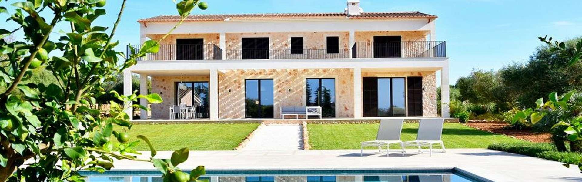 Ses Salines - Moderne Finca mit Blick auf die Insel Cabrera