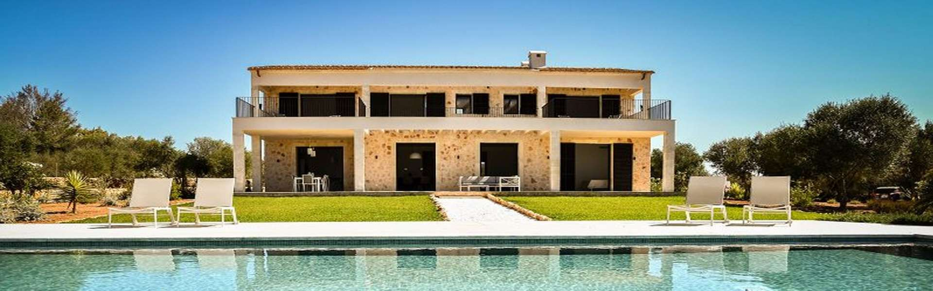 Ses Salines - Moderne Finca mit traumhaften Blick auf die Insel Cabrera