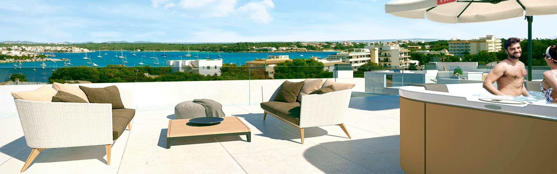 Portocolom - Exklusive Villa in Hafennähe