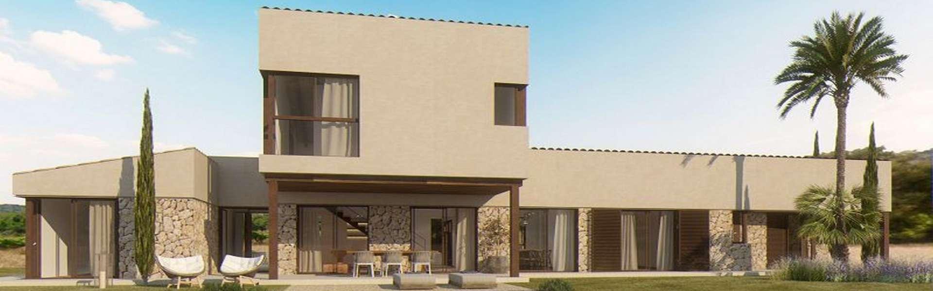 Schönes Neubauprojekt in der Nähe von Es Trenc zum Verkauf