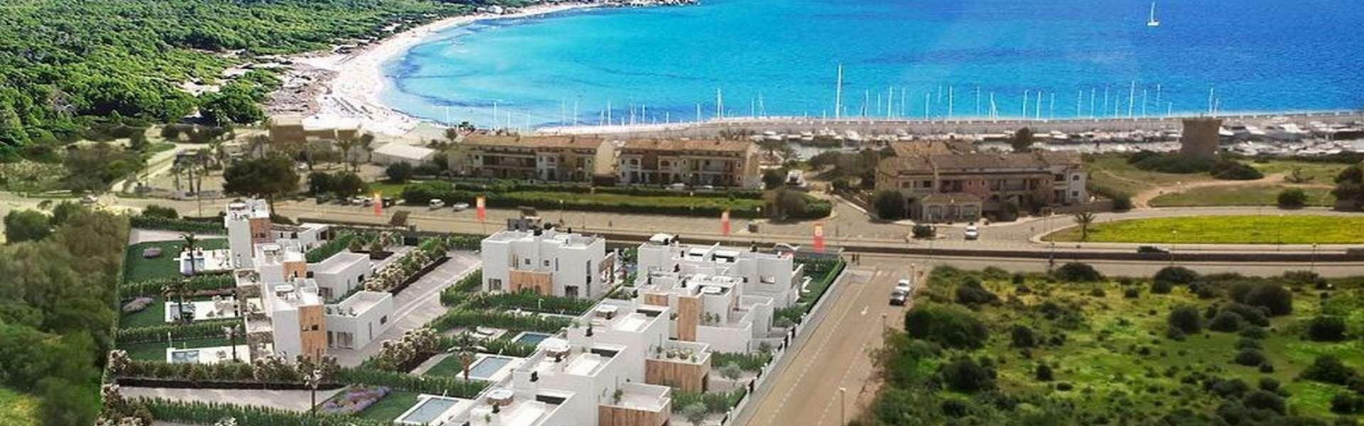 Sa Rapita - Luxus Villa in unmittelbarer Strand- und Hafennähe