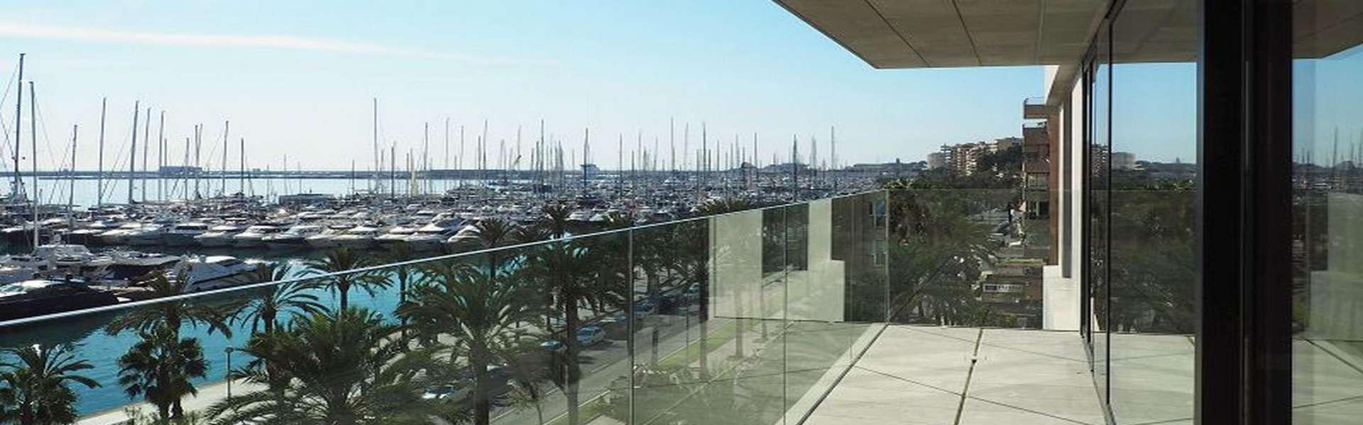 Palma/Paseo Marítimo - Schönes Apartment mit spektakulärer Aussicht
