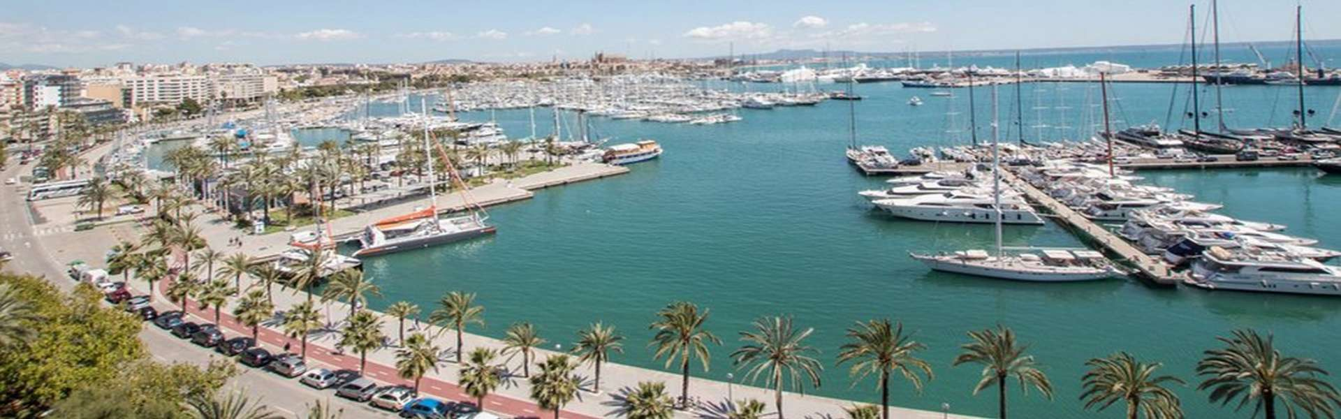 Palma/Paseo Marítimo - Luxuriöses Apartment an der Hafenpromenade
