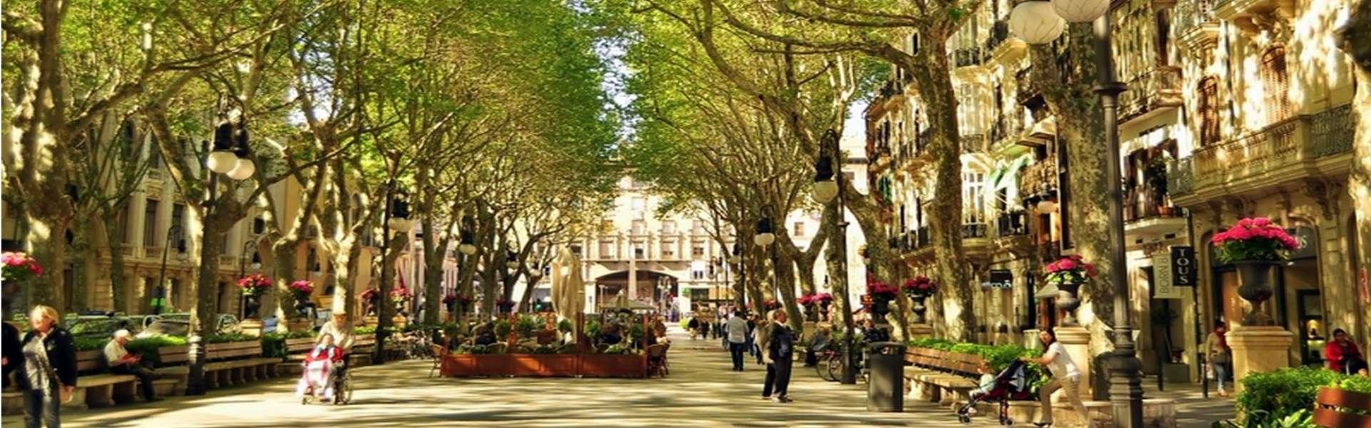 Luxusresidenzen (Apartments/Penthäuser) im historischen Stadtteil von Palma de Mallorca