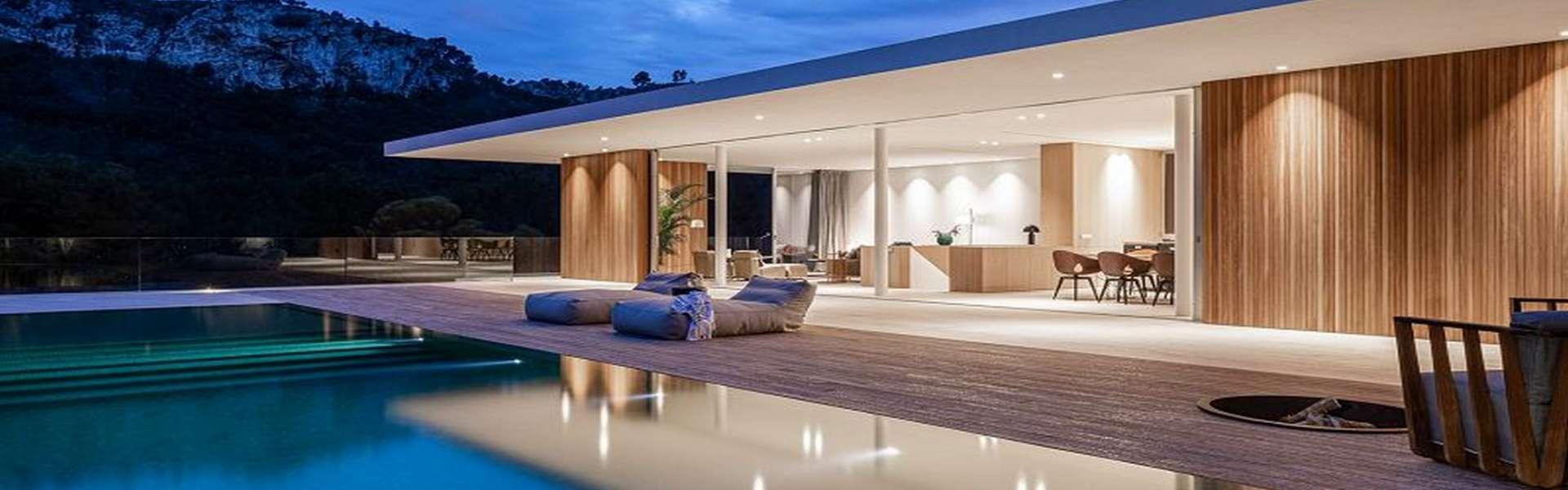 Palma/Son Vida - Luxus Villa mit beeindruckender Aussicht