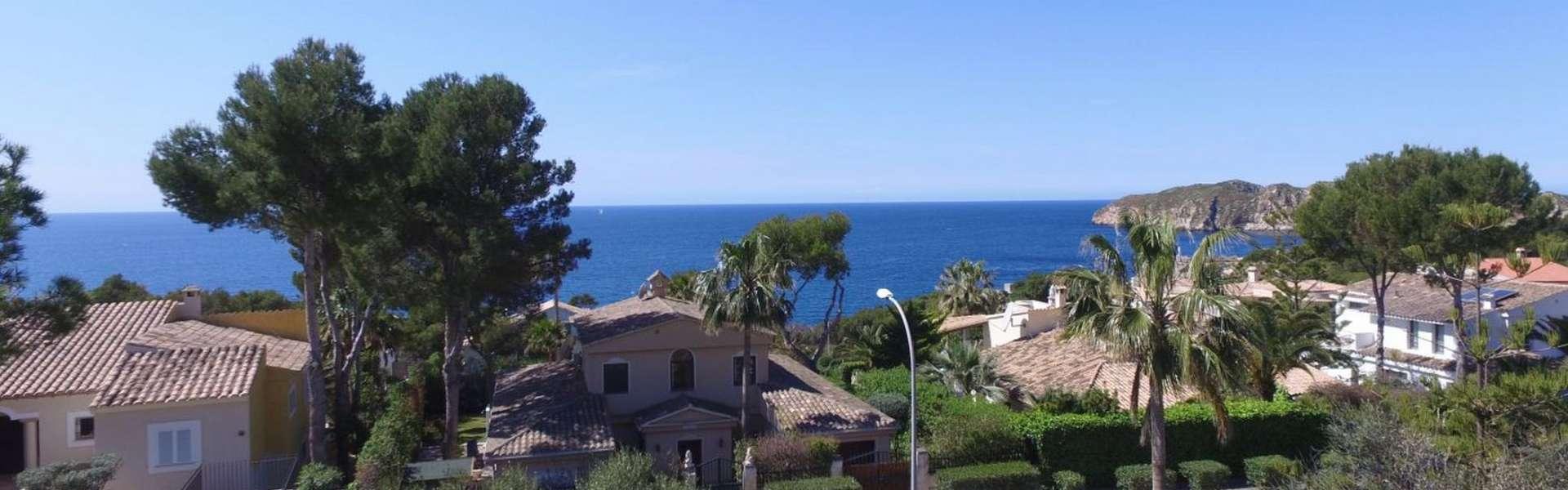 Santa Ponsa - Neubauvilla mit traumhaftem Meerblick und mediterranem Charme