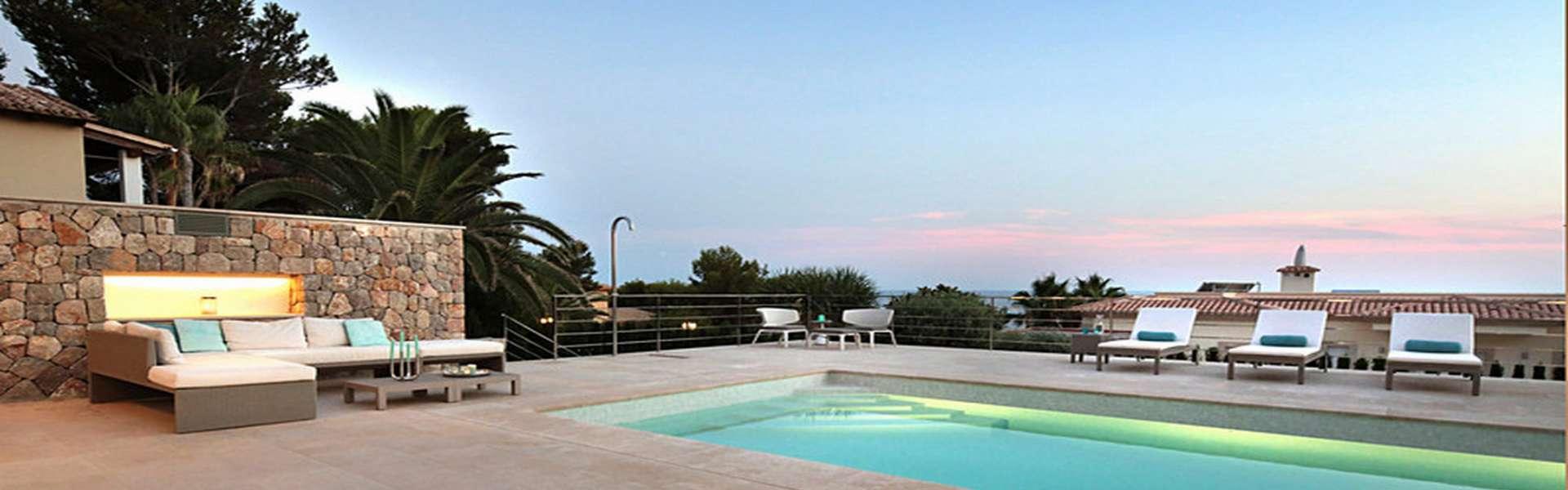 Santa Ponsa/Nova Santa Ponsa - Elegante Villa mit Meerblick in Top-Lage