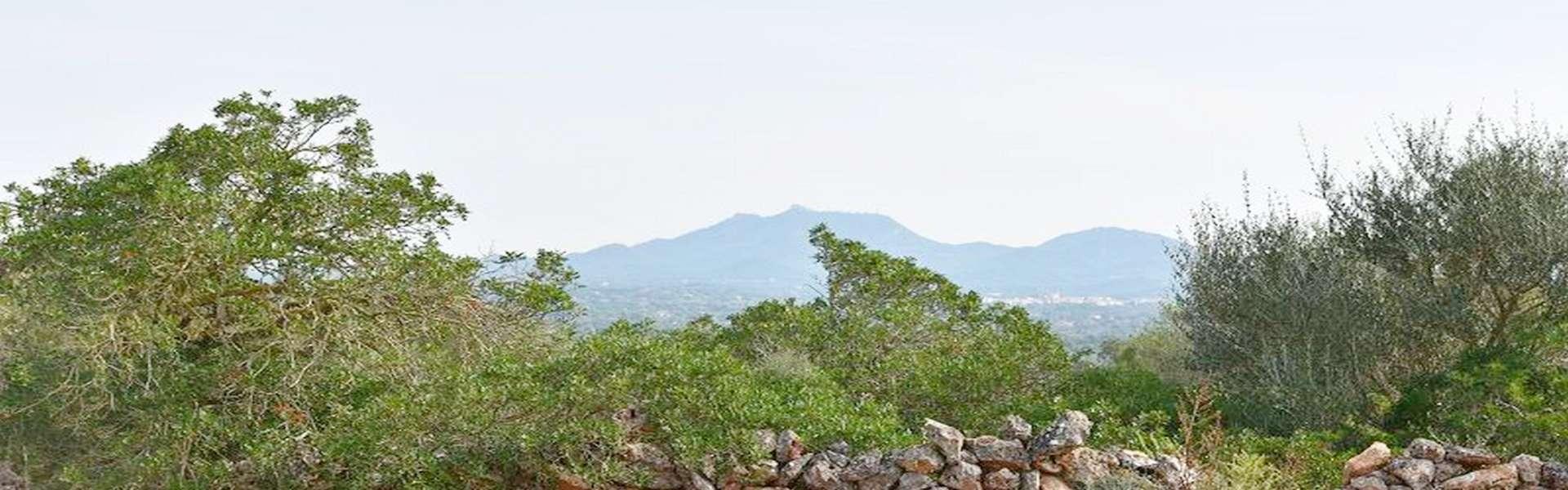 Santanyí - Fincagrundstück mit Baulizenz und schönem Weitblick