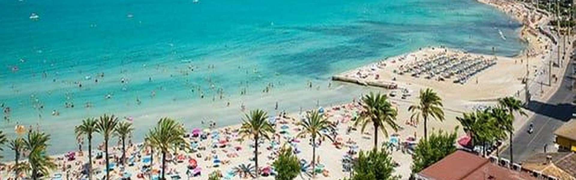 Palma/Playa de Palma - Renovierungsbedürftiges Chalet in Strandnähe